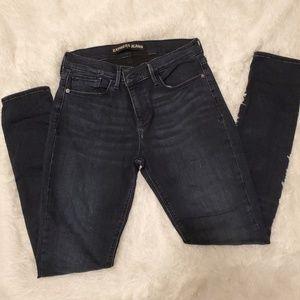 Express jean leggings. Dark wash. Size 8R